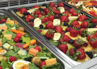 Cold Salad Bar Arrangement
