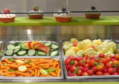 Salad Bar Arrangement
